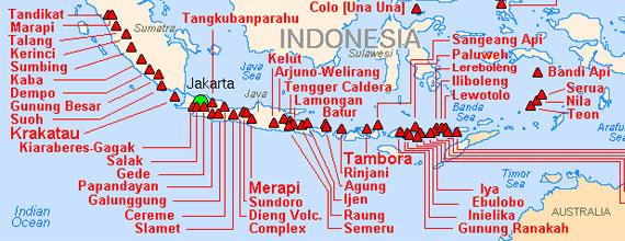 Volcanoes Bali Indonesia Indonesia Active Volcanoes